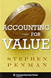 img - for Accounting for Value (Columbia Business School Publishing) book / textbook / text book