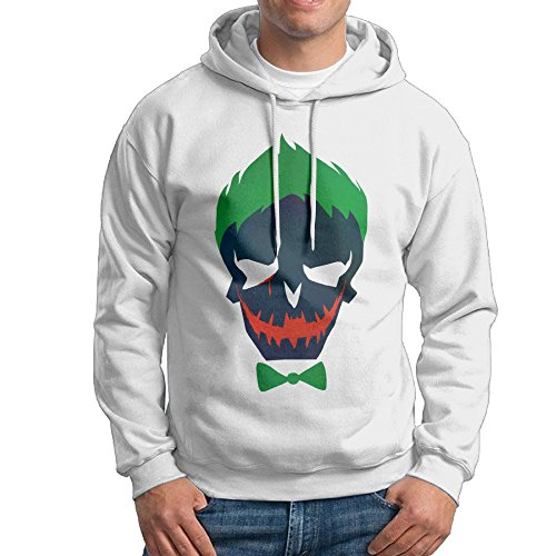 [UFBDJF20 Suicide Squad 7 Men's Long Sleeve HoodieWhite XL] (Lone Ranger Costume Shirt)