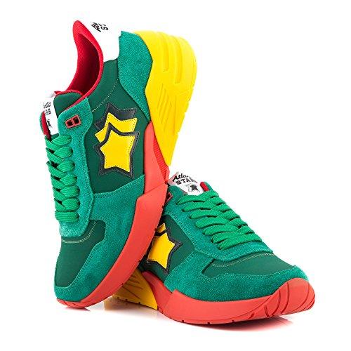 Atlantic Stars Sneaker Uomo Mars Spectra Green
