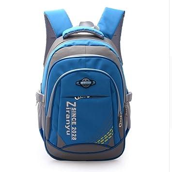 LETAMG MOCHILAS Mochilas Infantiles, Mochilas Impermeables, Niñas y niños, Mochilas, Mochilas Adolescentes, Azul: Amazon.es: Equipaje