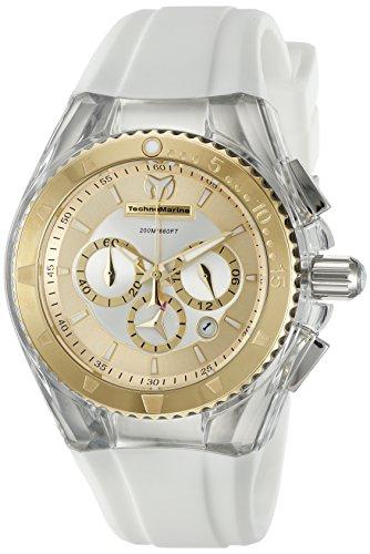 Technomarine Women's TM-115172 Cruise Pearl Analog Display Quartz White Watch