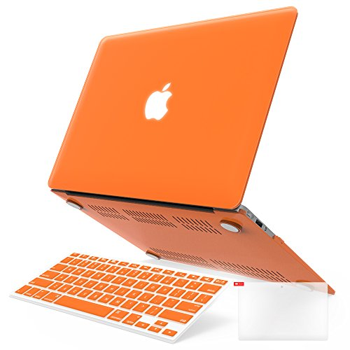 iBenzer Basic Soft-Touch Series Plastic Hard Case, Keyboard Cover, Screen Protector for Apple Macbook Air 11-inch 11