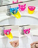 SYGA 1 Piece Faucet Sink Handle Extender for Children-Baby Bathroom Accessory, Excellent Hand Washing Guide Faucet for Home