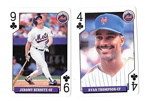 1994 Playing Cards Rookies NEW YORK METS 2 (New York Mets Playing Card)