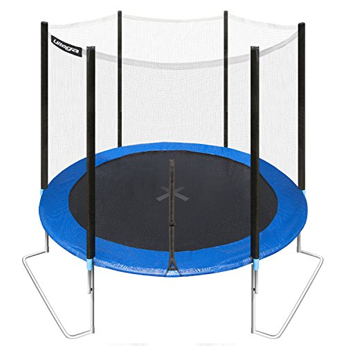 Ultega Garden/Outdoor Trampoline Jumper Including Safety Net, 6', Blue