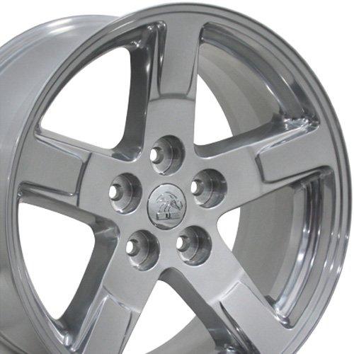 20X9 Wheel Fits Dodge, RAM Truck - RAM Style Polished Rim, Hollander ()