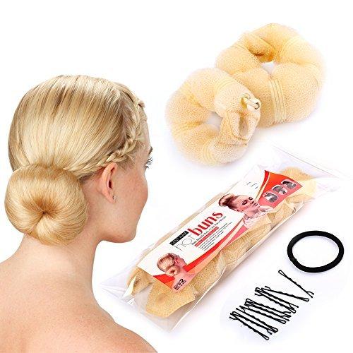 sent-hair-2-pieces-donut-hair-bun-makerchignon-bun-maker-blonde-smalllarge-by-sent-hair
