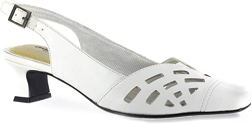 Easy Street Womens Adorable Square Toe
