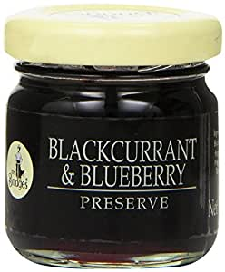 Mrs. Bridges Mini Preserve, Blackcurrant and Blueberry, 1.5 Ounce (Pack of 36)