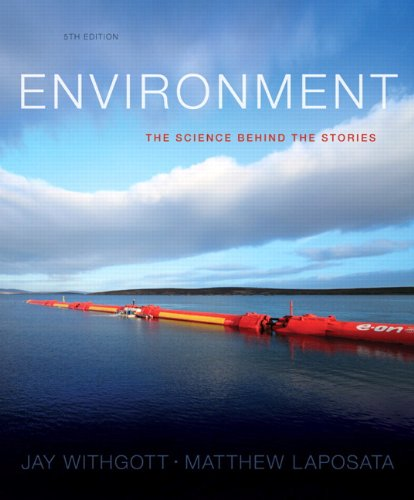 Environment: The Science behind the Stories Plus MasteringEnvironmentalScience with eText -- Access Card Package (5th Edition)