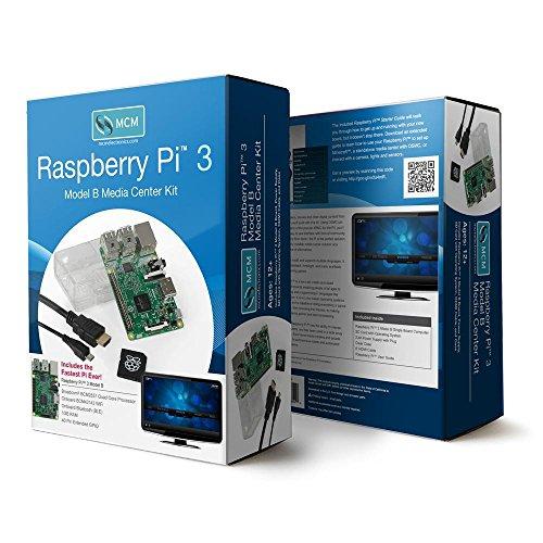 83-16562RK-Raspberry Pi 3 Model B Media Center