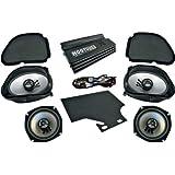 Hogtunes Big RG Road Glide Ultra Amp and Speaker Kit BIG RG