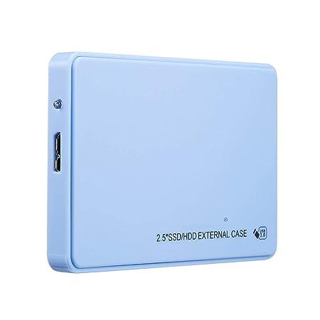 HWENJ Disco Duro Externo Externo Azul 2 TB / 1 TB / 500 GB ...