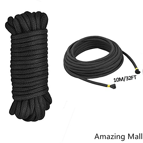 Feet Soft Twisted Cotton Rope Black product image