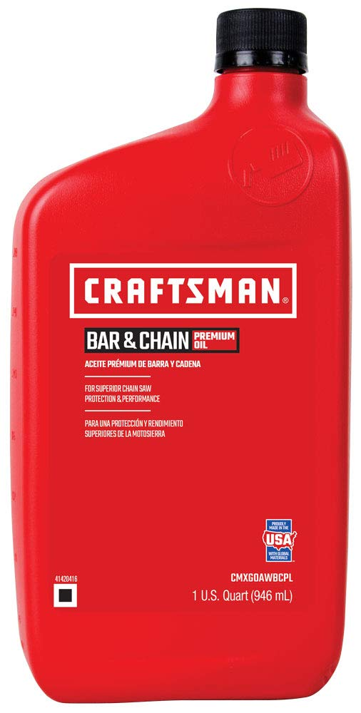 Craftsman 64284 Bar and Chain Oil, 32-Ounce, 12-Pack by Craftsman