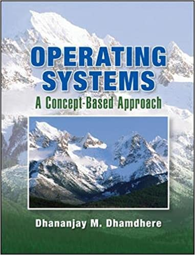 operating system concrpts dhamdheere solution of 1st edition