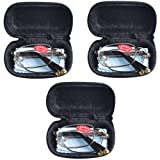 3 PRS Southern Seas Mens Womens Folding Reading & Travel +1.25 Glasses w Case 16 Strengths Available by Southern Seas