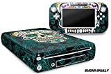 Designer Skin for Nintendo Wii U Console plus Controller Decal for: Wii U System - Sugar Skully