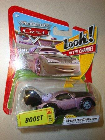 Disney / Pixar CARS Movie 1:55 Die Cast Car with Lenticular Eyes Boost