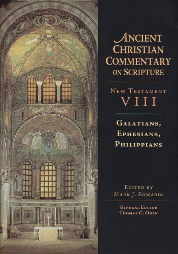 Download Galatians, Ephesians, Philippians (Ancient Christian Commentary on Scripture) pdf epub