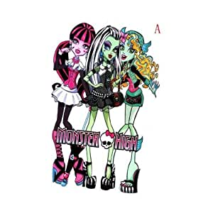 """Giant Size Monster High Wall Stickers, 33"""" * 21"""""""