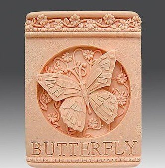 Let'S Diy Beautiful Butterfly Flowers 3D Silicone Candle Moulds Handmade Soap Mold - Flower Silicone Candle