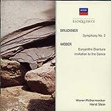 Bruckner: Symphony No.2 / Weber: Euryanthe Overture, Invitation to the Dance