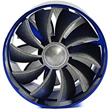 BMW 318 325 328 96-00-02-05-07-11-12-13 Turbo Cold Air Intake Dual Fan Gas Fuel Saver