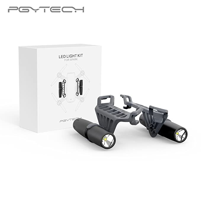 Mulong PGYTECH Night Flight LED Light for DJI Spark Drone Accessories Not Include the Battery best drone accessories