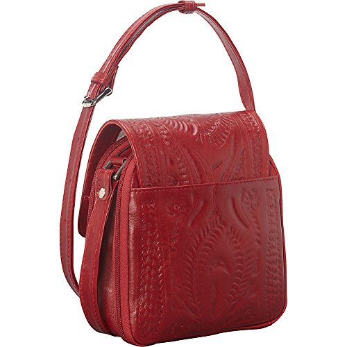 Ropin Purse Crossover Brown Ropin West West pSTpn6