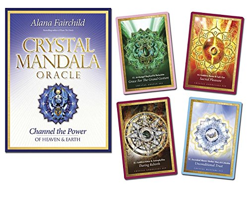 Crystal Mandala Oracle: Channel the Power of Heaven & - Mandala Chakras