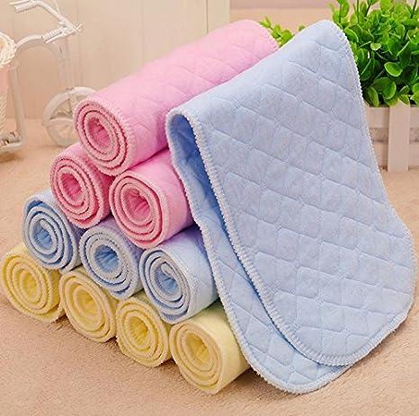 MHGAO pañales pañales de algodón bebé baten los pañales se Pueden Lavar Suministros colchones bebé Compre uno y llévese Dos, Blue: Amazon.es: Deportes y ...