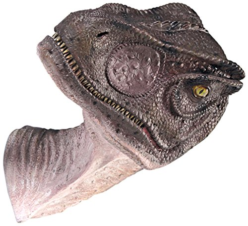 (Design Toscano Giant Allosaurus Dinosaur Wall Trophy Sculpture, Mouth Closed)