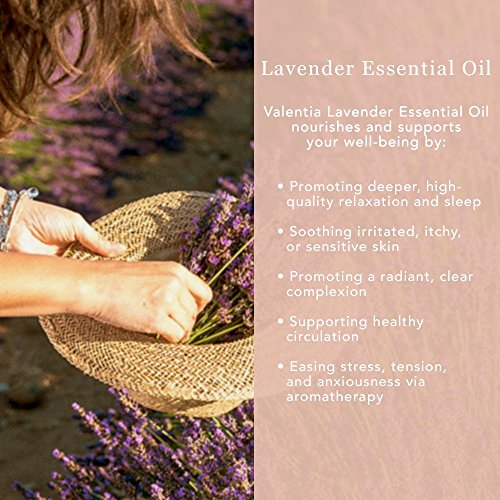 Large Product Image of Valentia Lavender Essential Oil (4oz) 100% Pure & Unrefined
