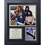 "Legends Never Die ""Led Zeppelin "" Framed Photo Collage, 11 x 14-Inch"