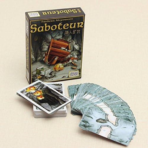 PhilMat Tarjeta saboteador vendimia juego de mesa juego: Amazon.es: Juguetes y juegos
