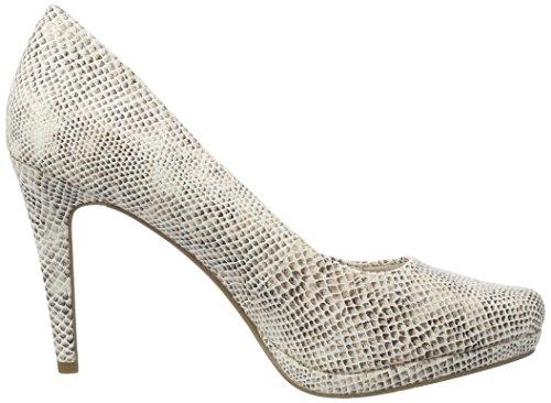 Tamaris 22446, Zapatos de Tacón para Mujer Beige (SHELL COMB 424)
