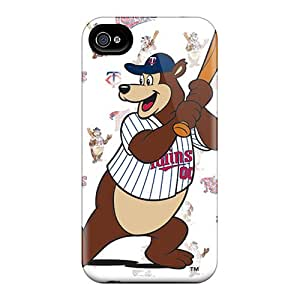 For Iphone 4/4s Fashion Design Minnesota Twins Case-RfYZP20274VlhTK