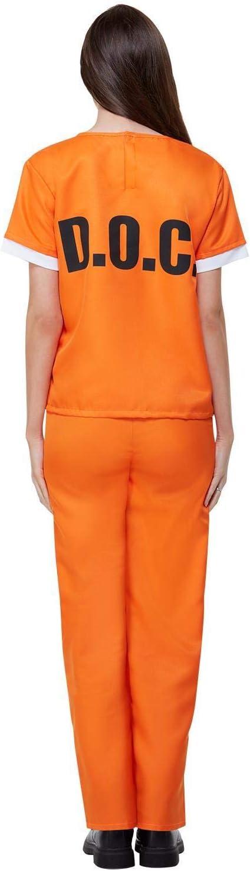 Disfraz de Presa de Orange is The New Black para Mujer: Amazon.es ...