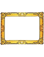 Guilty Gadgets Inflatable Gold Photo Frame