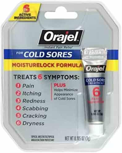 Orajel Moisturelock Cold Sore Treatment 0.105 oz