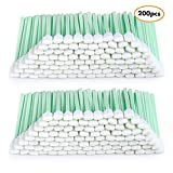 "200pcs 5.11"" Square Rectangle Foam Cleaning Swab"