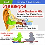 WaterDam Ear Plugs for Swimming Kids – 3 Pairs