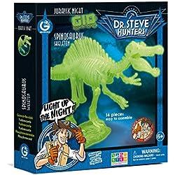 Geoworld Jurassic Night Spinosaurus Toy, Glow In The Dark