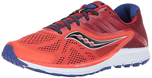 Saucony Herren Ride 10 Laufschuhe Orange Red