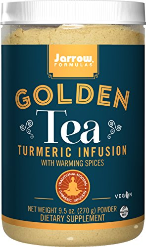 Jarrow Formulas Golden Tea, Tumeric Infusion With Warming Spices, 9.5 Ounce by Jarrow