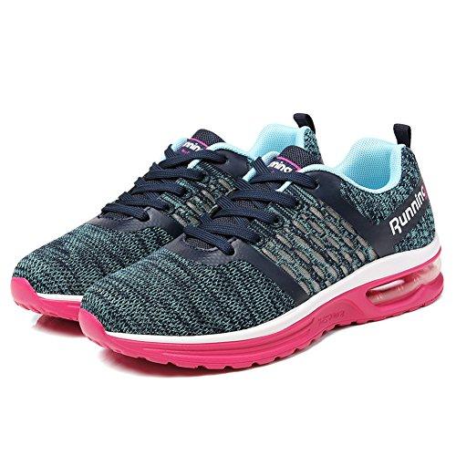 Torisky Heren Dames Luchtkussen Sneakers Outdoor Sport Jogging Schoenen Roze