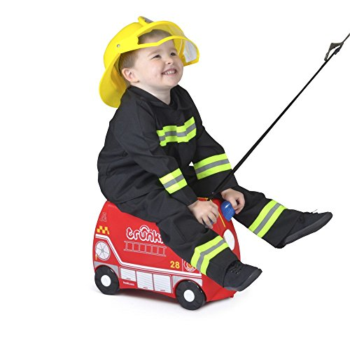 Trunki Boys, Frank Fire Truck (Red)