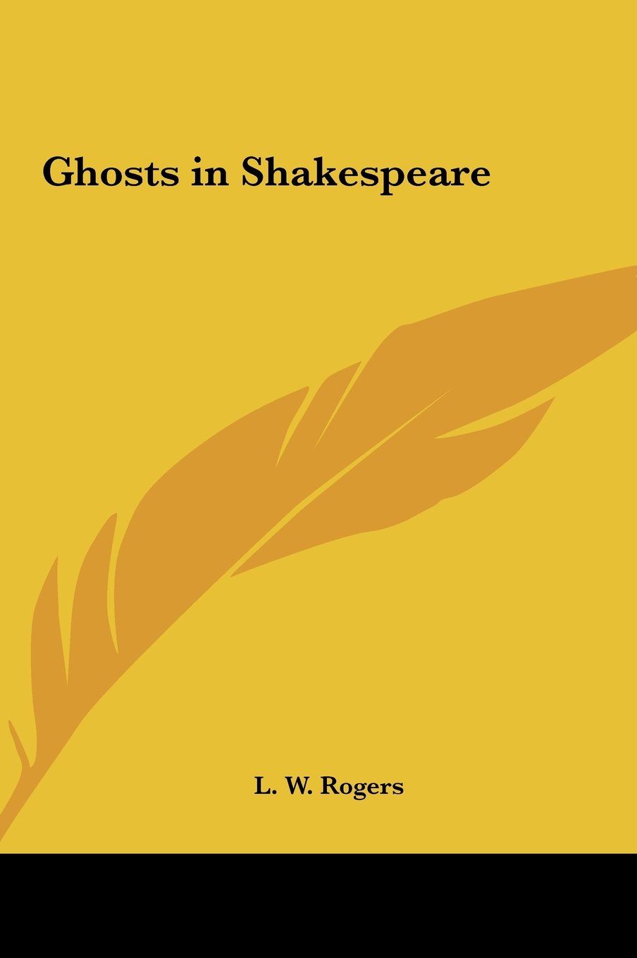 Ghosts in Shakespeare ebook
