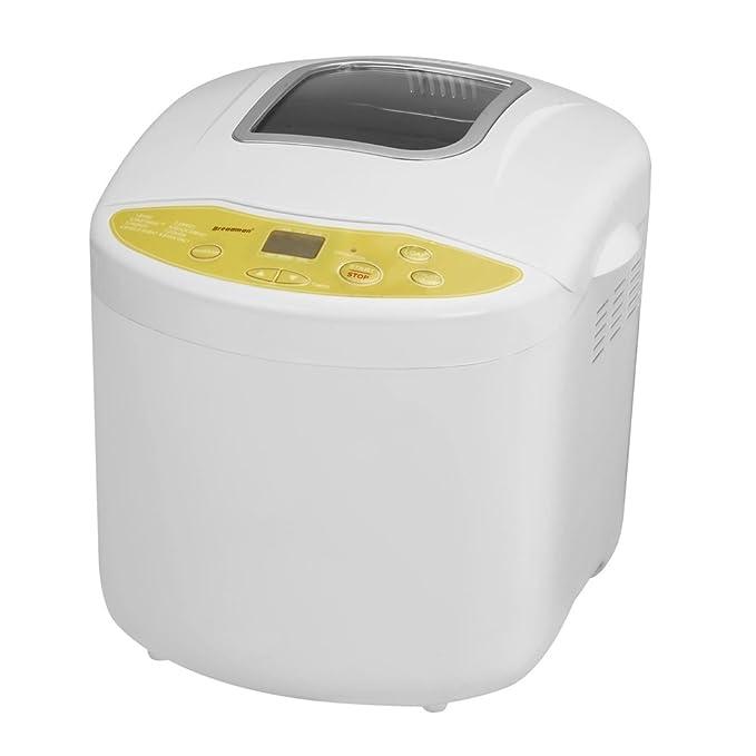 Applica TR520 Blanco - Panificadora (De plástico, Blanco, 454 g, Pastel de masa, Masa, Pan francés, Pan de trigo, 907 g, Oscuro, Luz, Medio): Amazon.es: ...